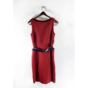 Milly of New York Wool Blend Red Dress NWT Size 4